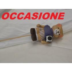 ORSO CALCIATORE CON STECCO